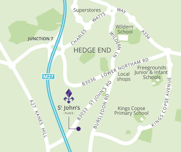 Foreman Homes St John S Place Hedge End Nr Southampton